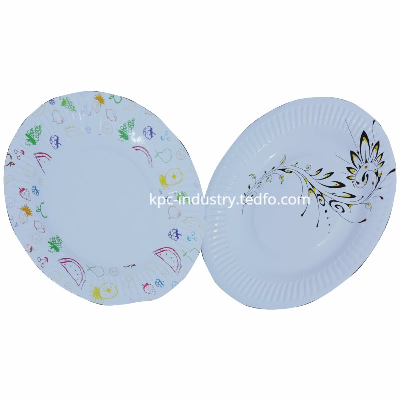 Paper Plate 10 inch, Made in Bangladesh