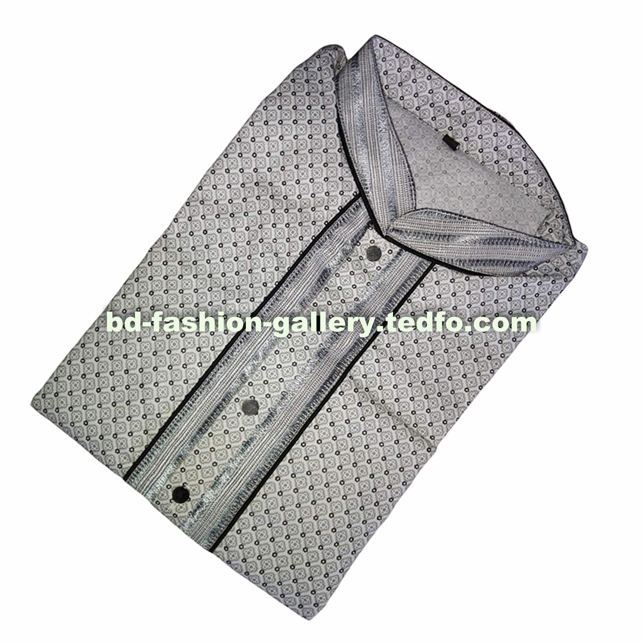 Light Grey Men's Punjabi, Wholesale Collection,Made in Bangladesh