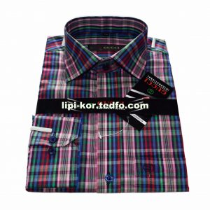 Multi color Check Full Sleeve Buttoned Men's Shirt