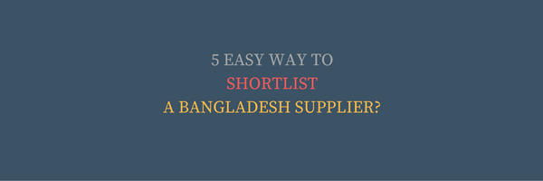 Get News of Suppliers from Bangladesh