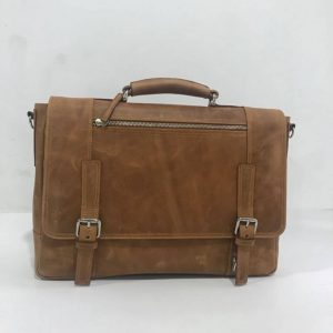 Best Fashionable Men's Genuine Leather Bag Supplier from Bangladesh