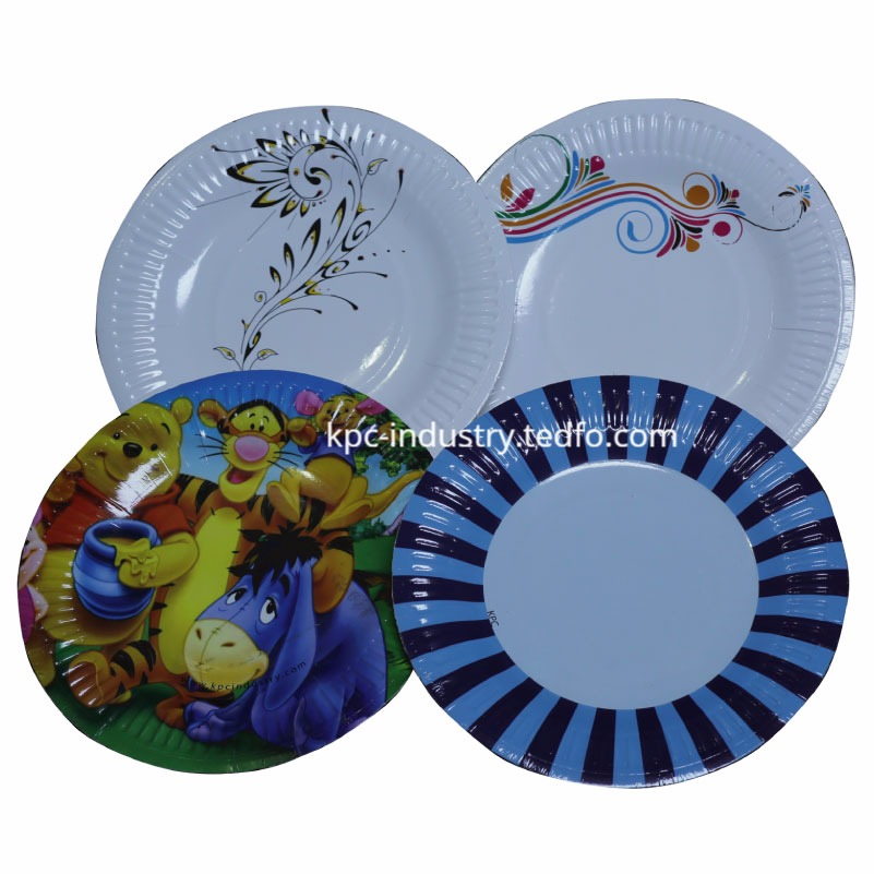 Disposable Paper Plate and Tray 7 Inch Supplier from Bangladesh.