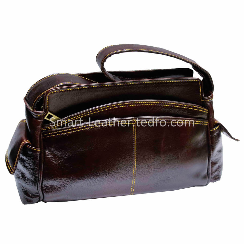 Leather Ladies Messenger Bags Manufacturer Supplier and Exporter from Bangladesh