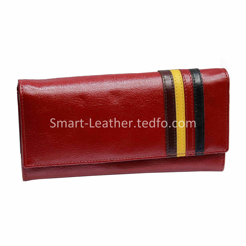 Top Layer Leather Ladies Wallet