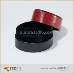 100% Real Leather Ring Box(Round Shape)Made In Bangladesh
