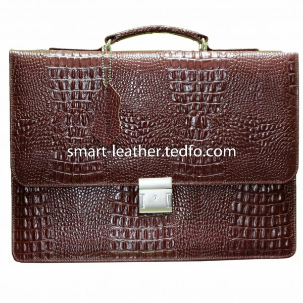 attractive leather briefcase
