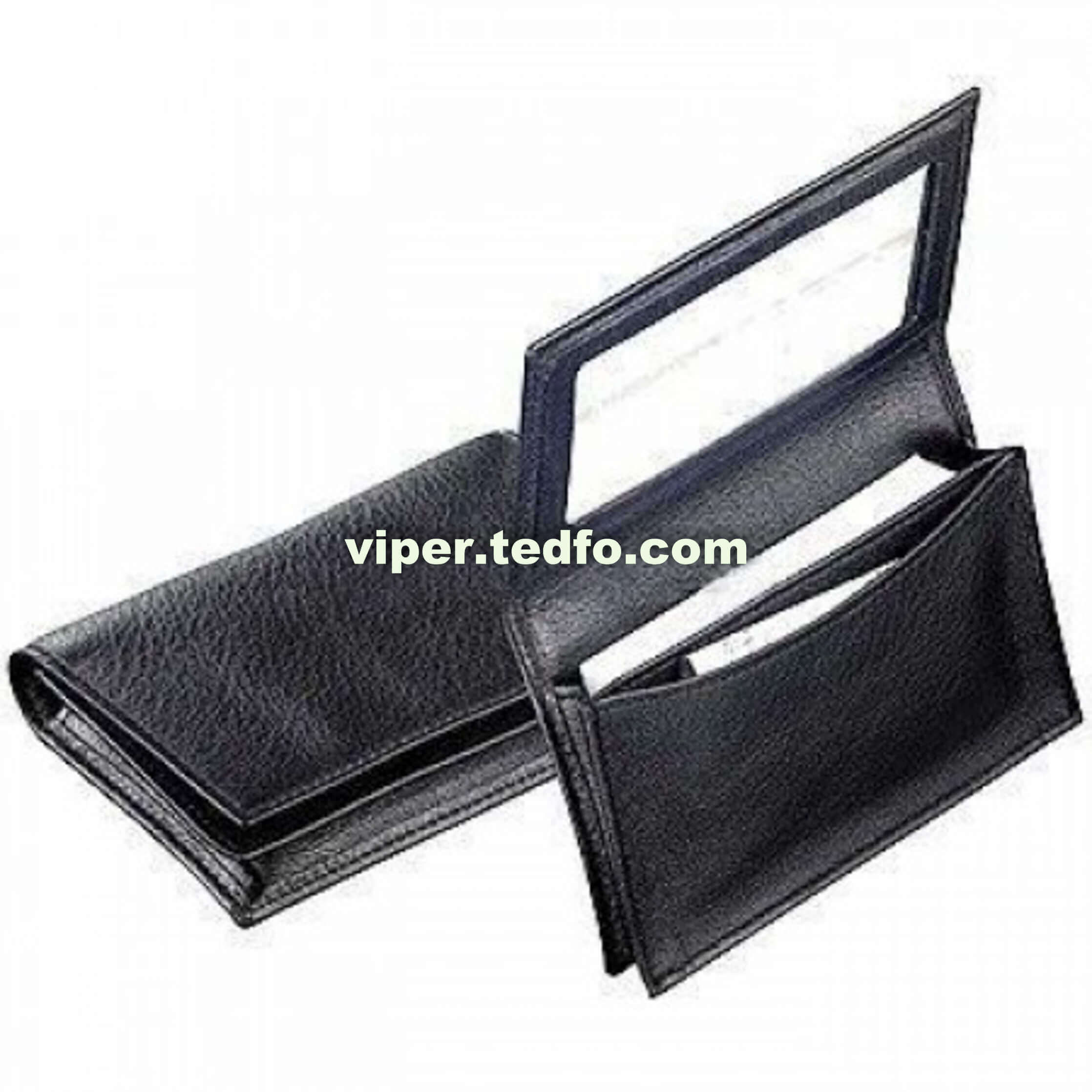 Black Leather Card Holder (VC721),Made in Bangladesh