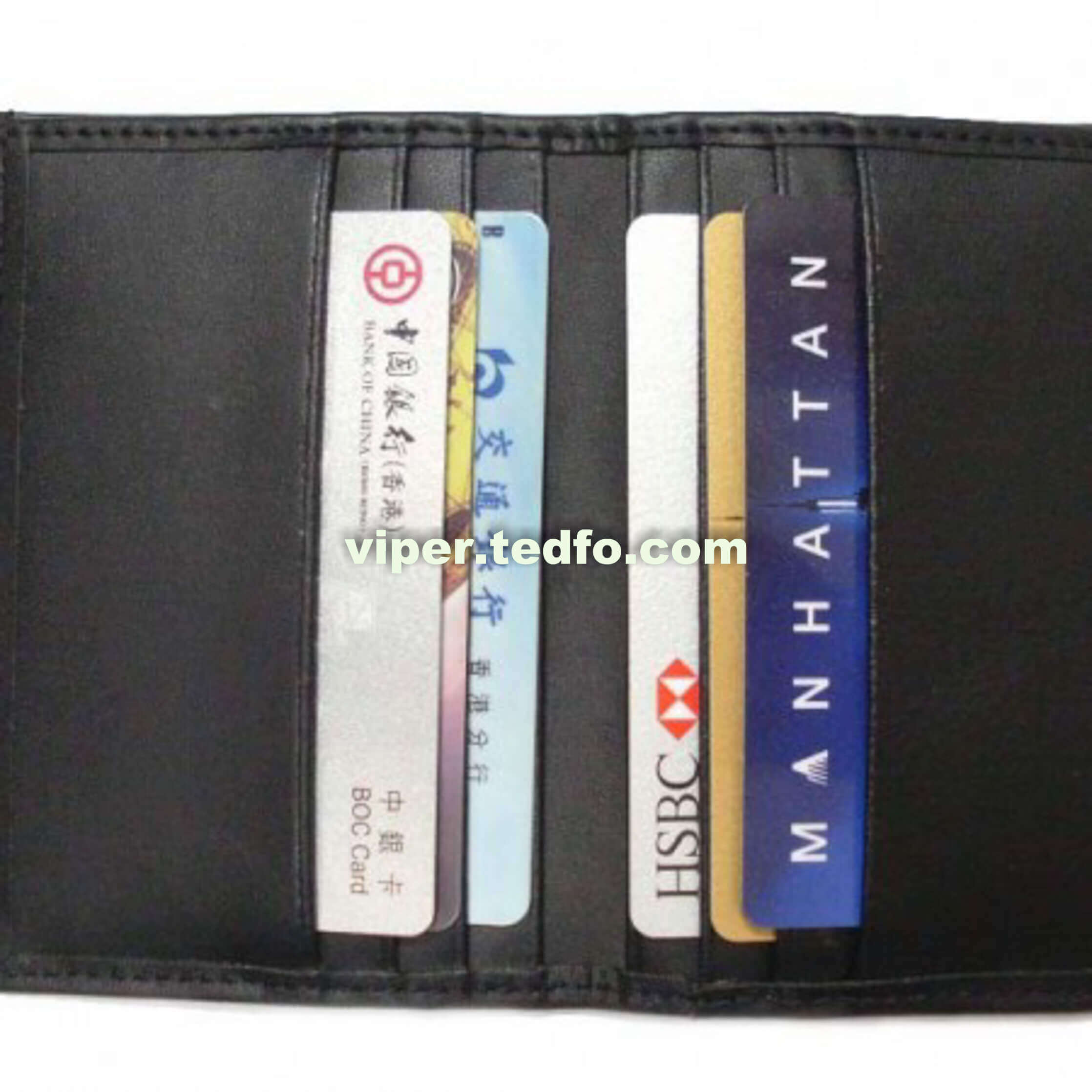 Leather Multi slot Card Holder (VC722)