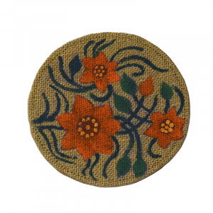 Jute Made Flower Design Table Top