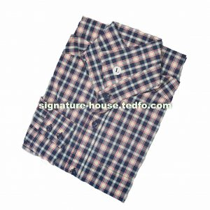 Black and Yellow Check Long Sleeve Button Down Men's Shirt