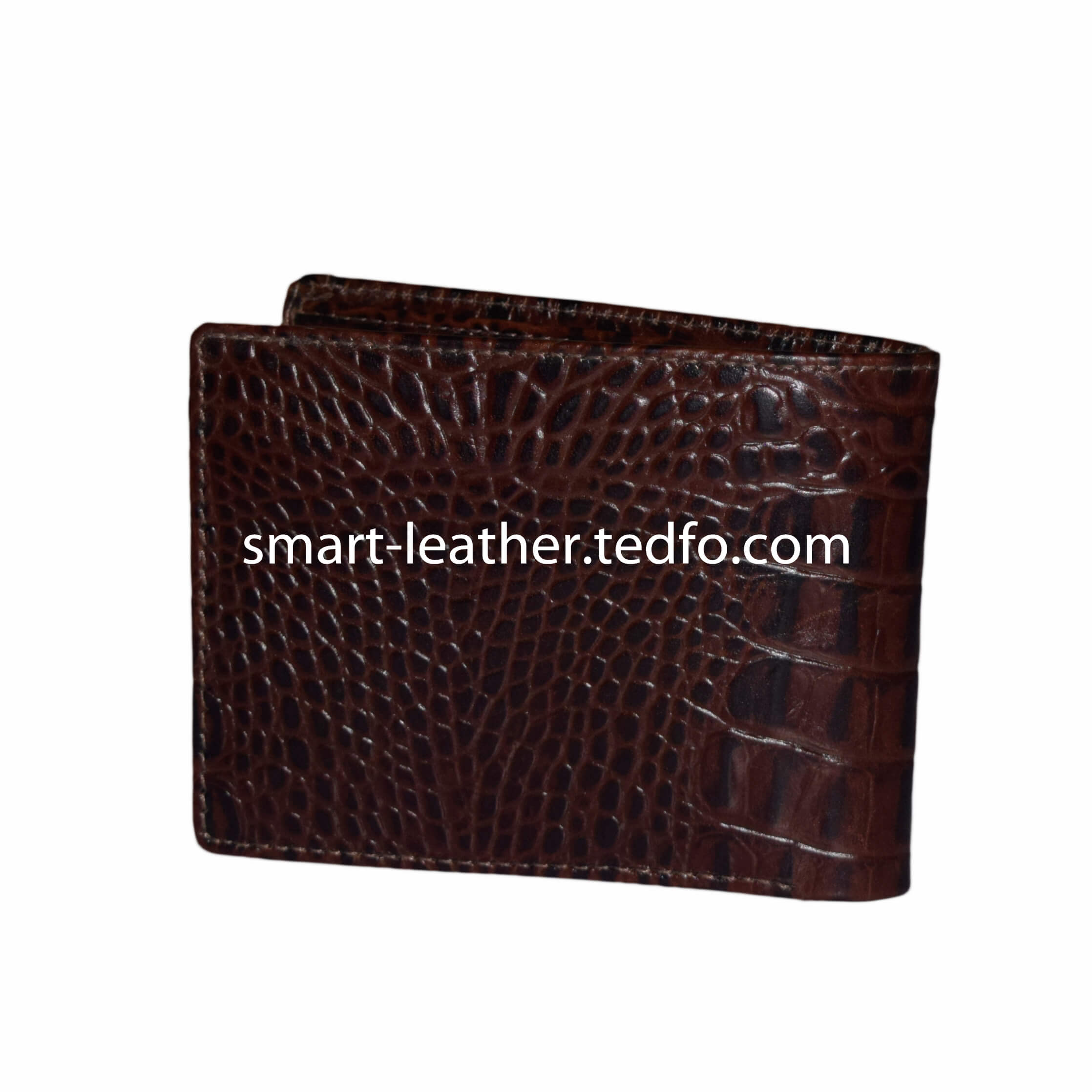 Leather Smart Brown Wallet