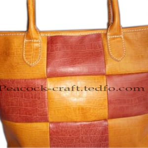 Leather Chess Design Messenger Bags