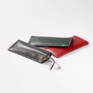 Soft Leather Glass Cases