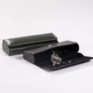 Hard Leather Glass Cases