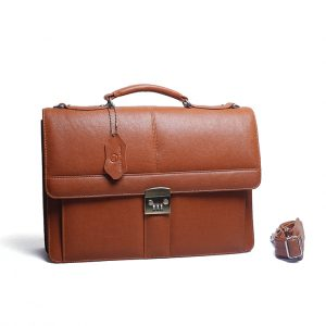 F2-4000 Office fashionable Leather Bag Supplier from Bangladesh