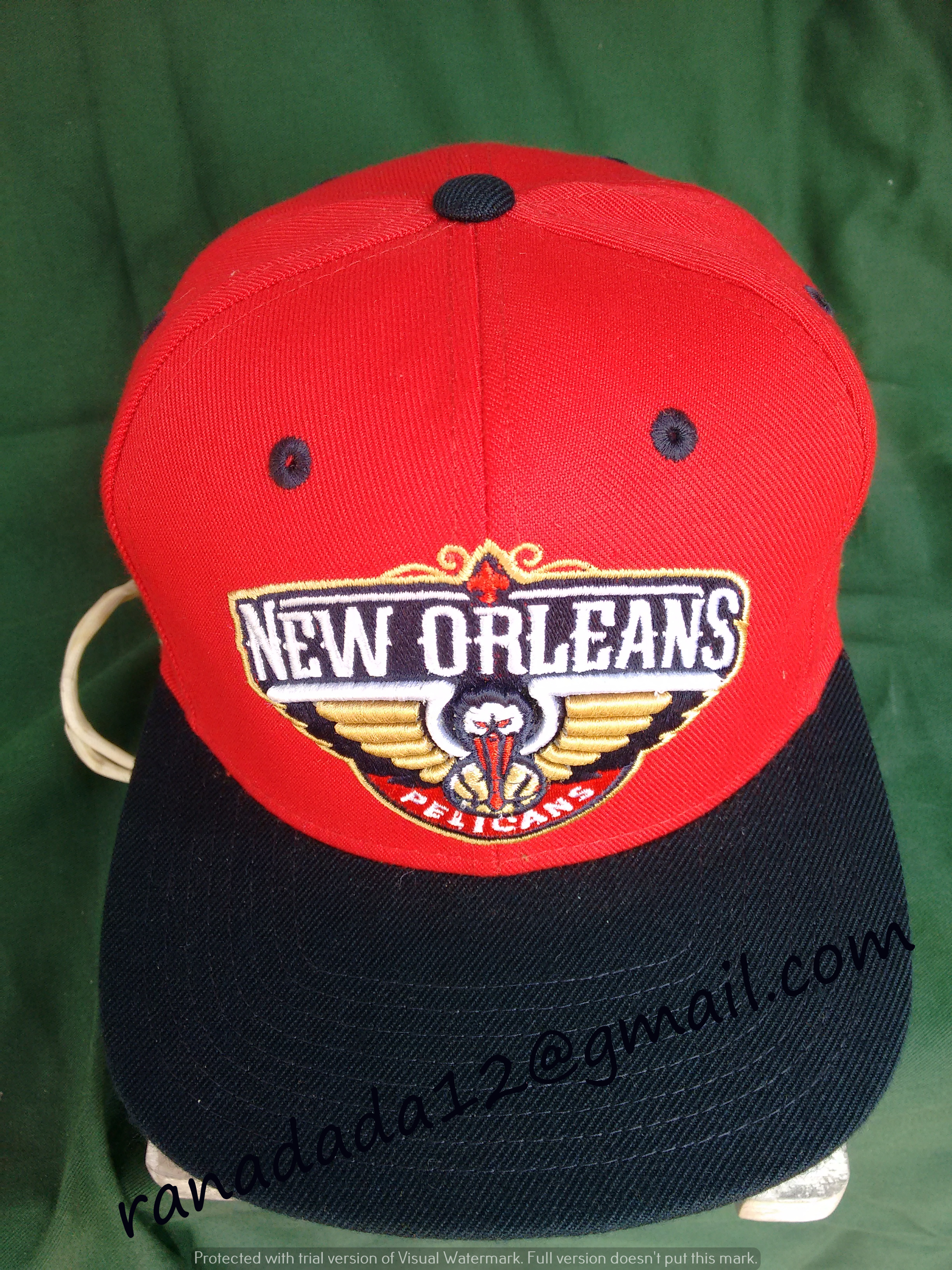 outlet store 658ab 63b55 New Orleans Pelicans Mitchell and Ness NBA Under Over Snapback Cap