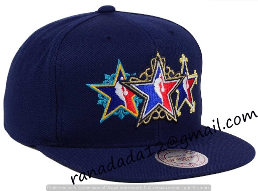 96a8a0848a5 NBA All Star Mitchell and Ness NBA All Star Snapback Cap - TEDFO