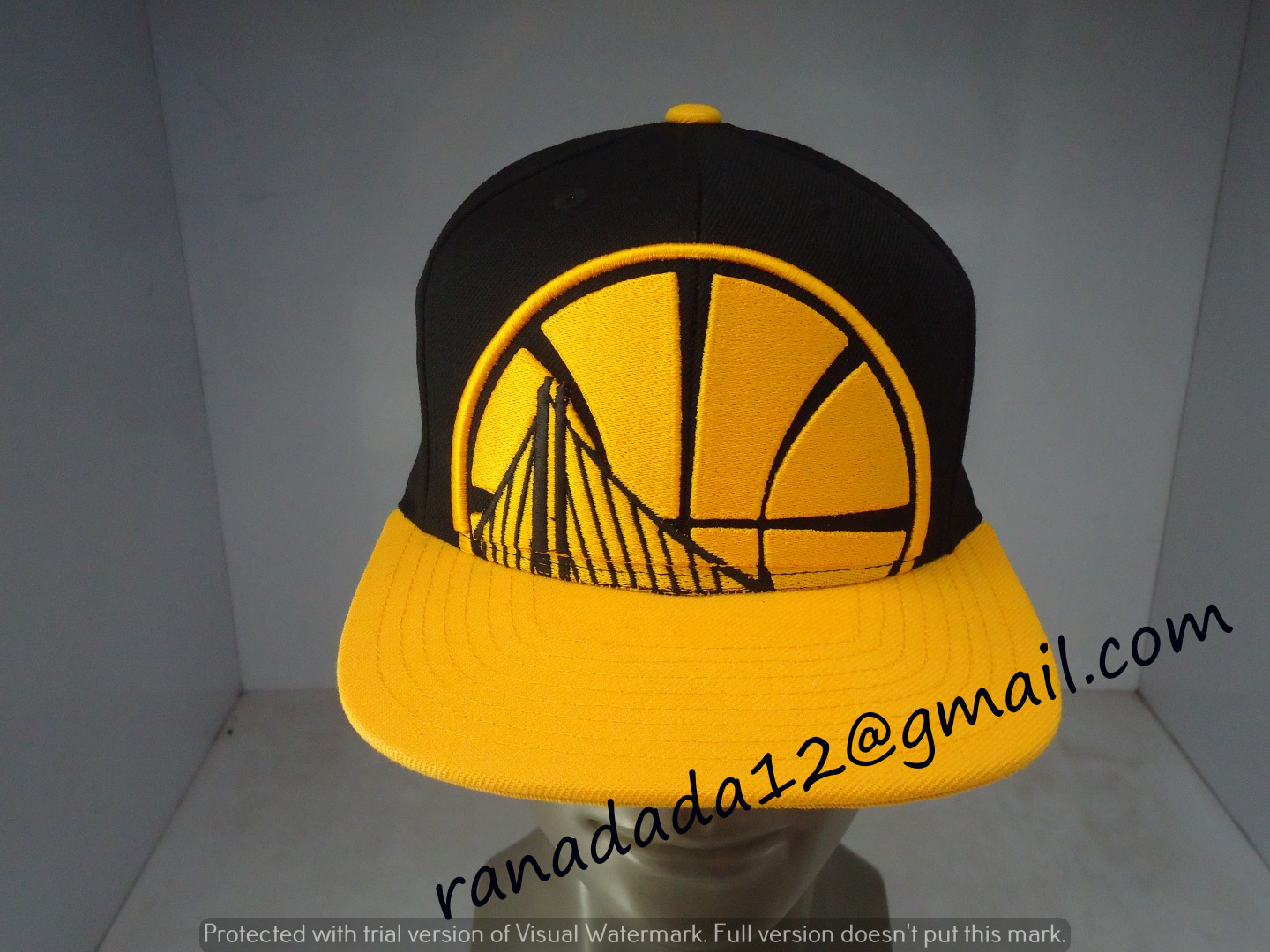 timeless design abbe3 2d355 Golden State Warriors Mitchell and Ness NBA Cropped XL Logo Snapback Cap
