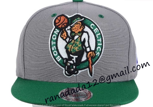 a071026b03c Boston Celtics Mitchell and Ness NBA Under Over Snapback Cap - TEDFO
