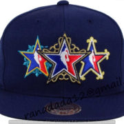 NBA All Star Mitchell and Ness NBA All Star Snapback Cap