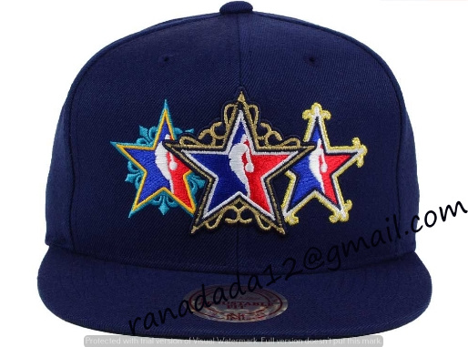 uk availability 5827c 5ec94 NBA All Star Mitchell and Ness NBA All Star Snapback Cap