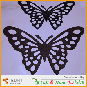 Fashionable Butterfly imitation Laces , Garments accessories Made in Bangladesh