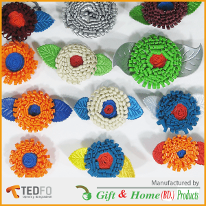 Fluffy Flower Laces ,non-woven, ultra-sonic flower / Lace