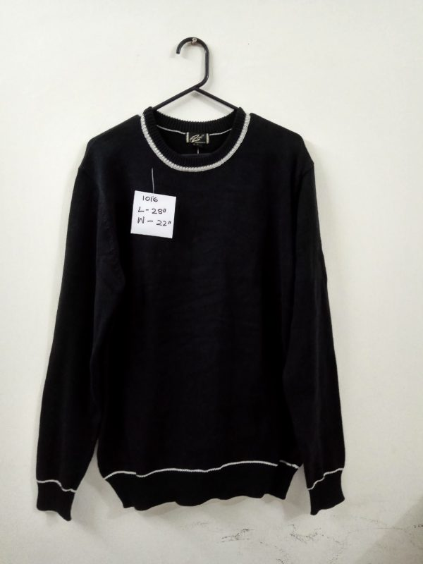 Black Crew Neck Sweater   Source From Bangladesh   Pullover   Cardigan   Jumper