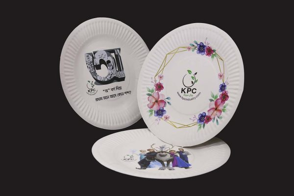 Disposable Paper Plate and Tray 8 Inch Supplier from Bangladesh