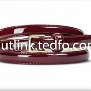 Stylish Leather Ladies Belt,Red Themed