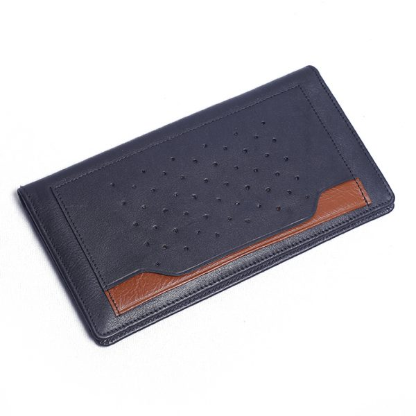 Fashionable Real Leather Long Wallet Supplier from Bangladesh