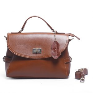 T3-2500 Model Fashionable Genuine Leather Ladies Bag Supplier from Bangladesh