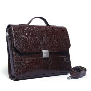 F5-3600 Model Stylish Leather Office Bag Supplier from Bangladesh