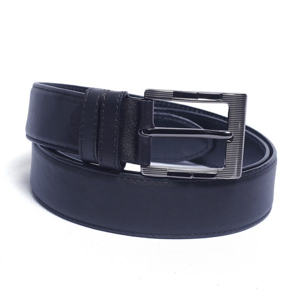 Best Fashionable 1.5 inch Plain-600 Model Leather Belt Supplier from Bangladesh.