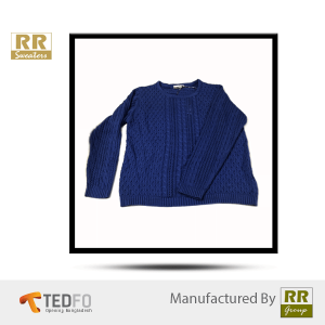 Blue Cardigan Sweater | Wool | Made In Bangladesh | Pullover | Vest | Sweatshirt
