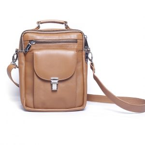 SB2-2500 Model Stylish Real Leather Backpack Supplier from Bangladesh
