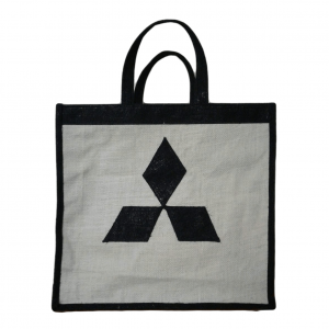Jute Tot Gift Bags , With Brand Name