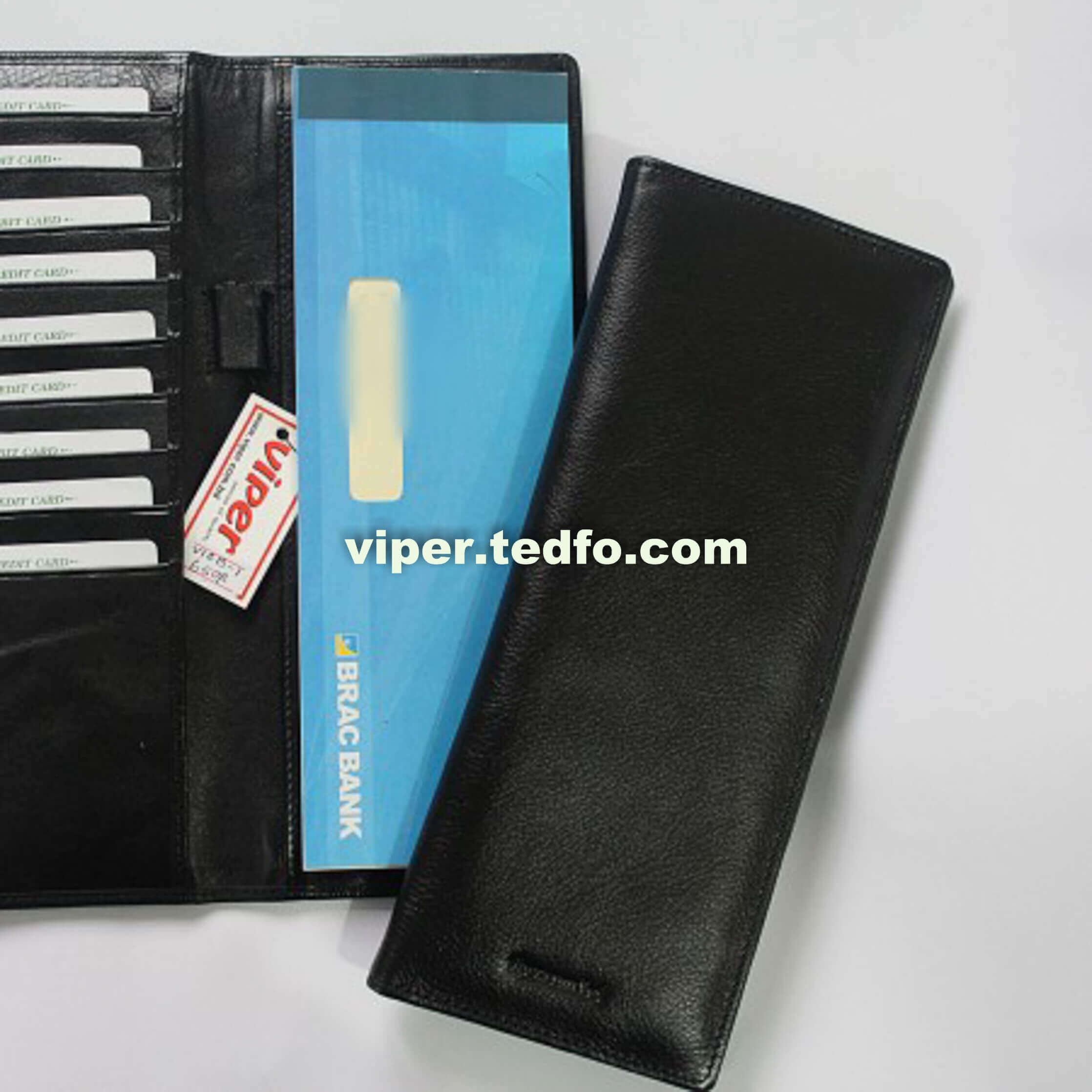 Check Book Cover Wallet Business Checkbook With Coin Purse