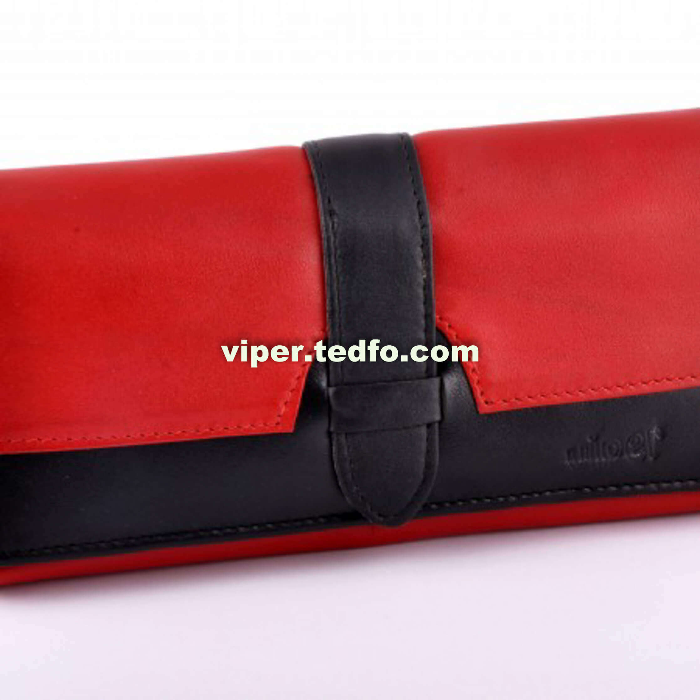 Red & Black Ladies Purse