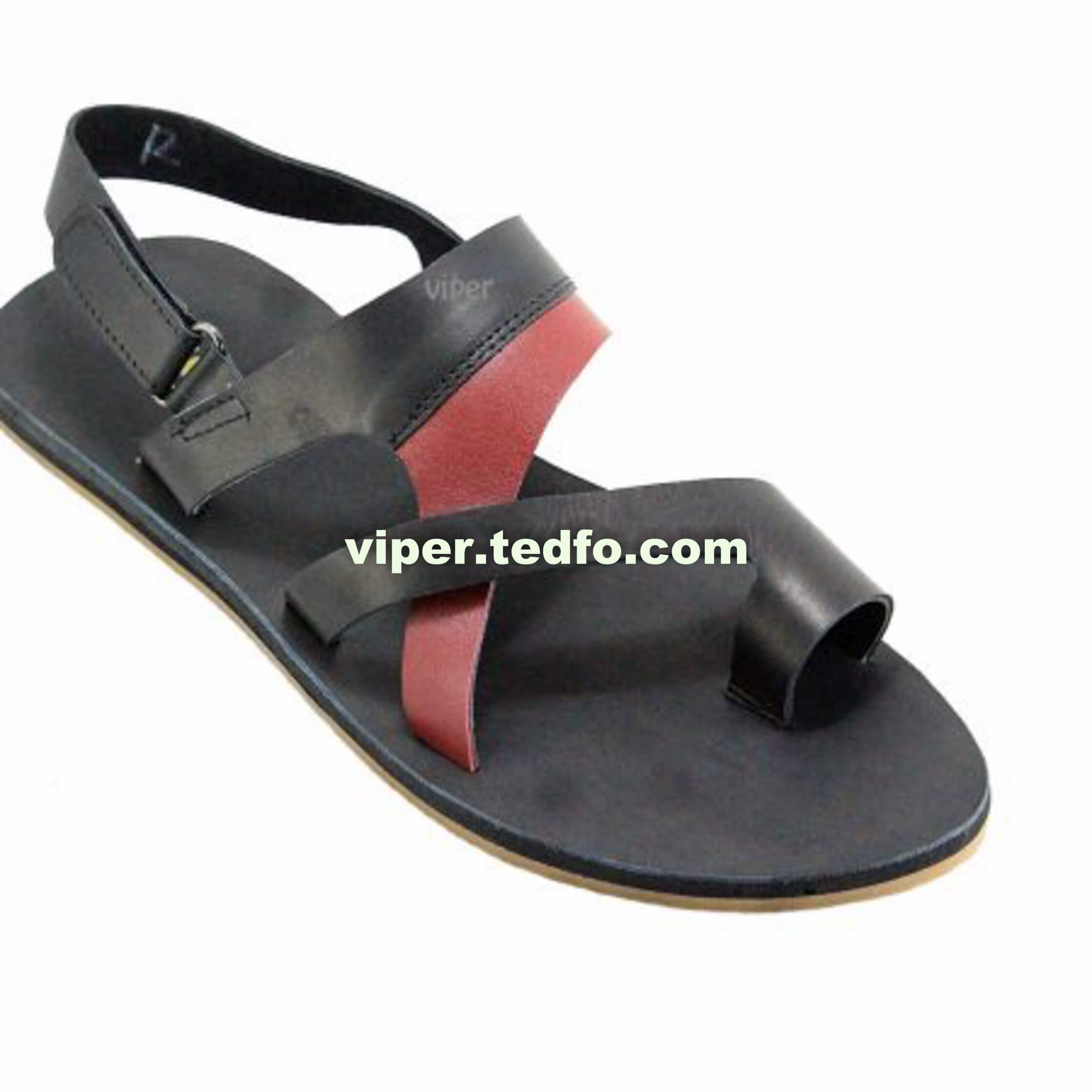 100% Leather Viper Sandal 130