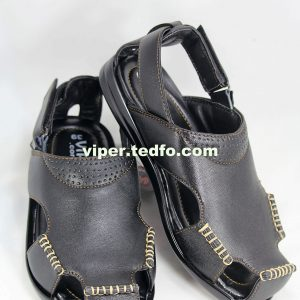 Comfortable Men's leather sandal