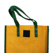 Screen Print Jute Shopping Bag