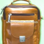 Bangladeshi Brown/Black Leather Travel Bags for Men or Women