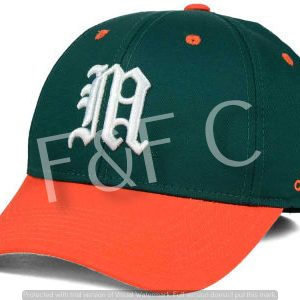 Green & Orange BASEBALL CAP
