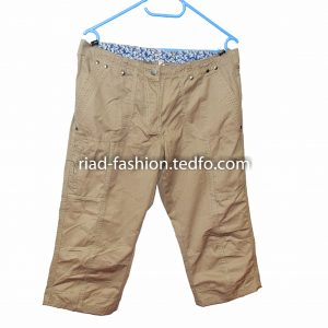 Men's Ash Color Loose Short Pant