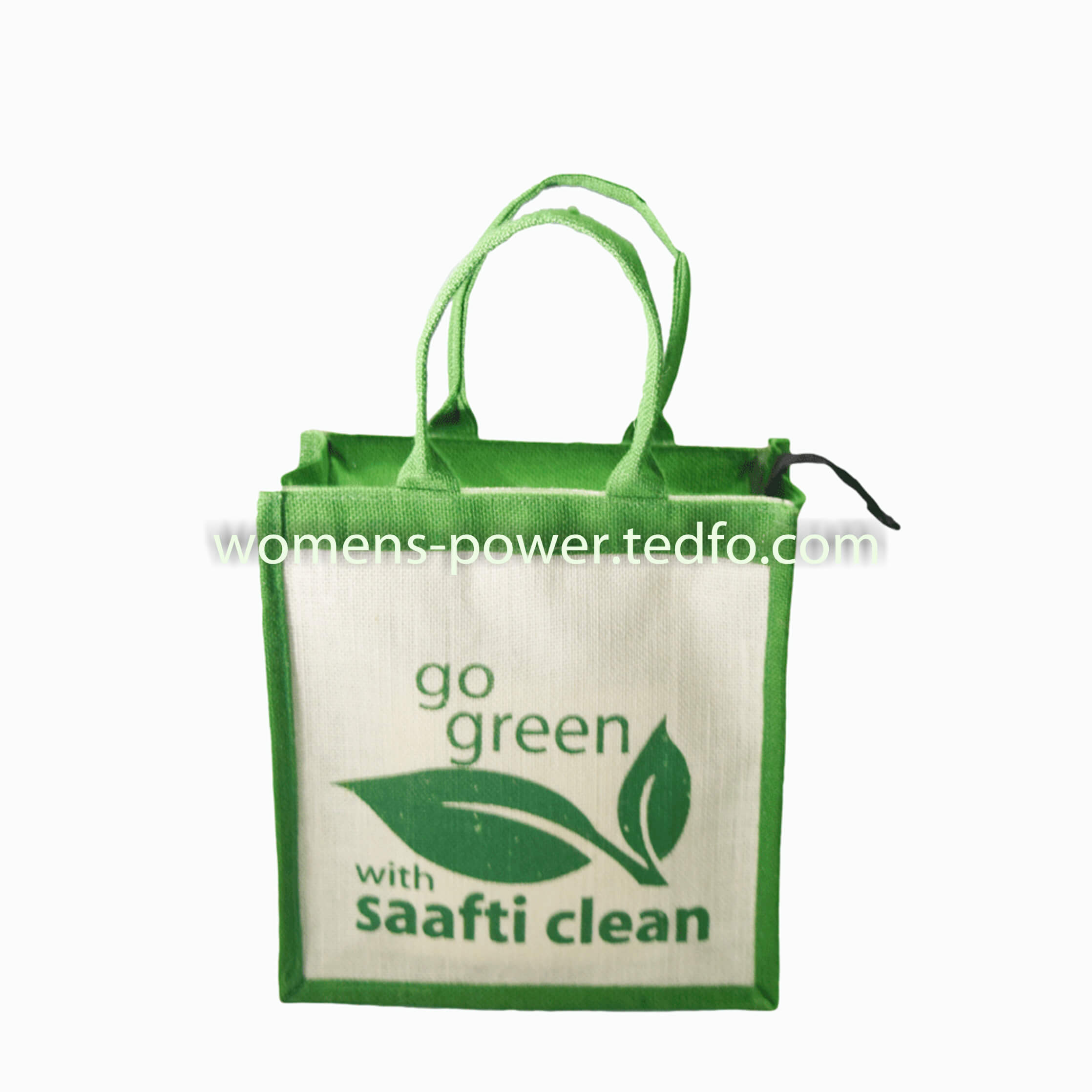 Jute Made Gift Bags Go Green And White Themed In Desh