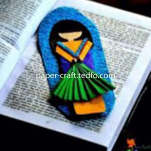 Colorful Handcrafted Paper Bookmark From Bangladesh